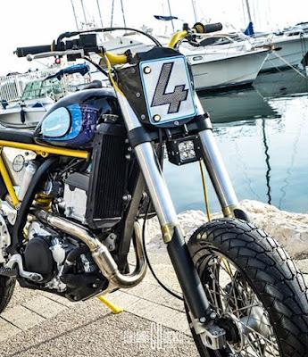 Taverne Motorcycles Suzuki DRZ 400 TM