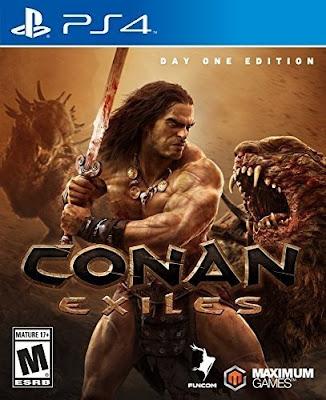 Conan Exiles Game Cover PS4