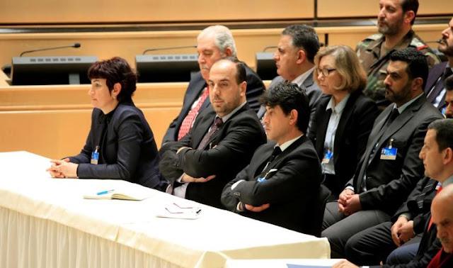 وفد المعارضة السورية يلتقي الروس ودي ميستورا بجنيف