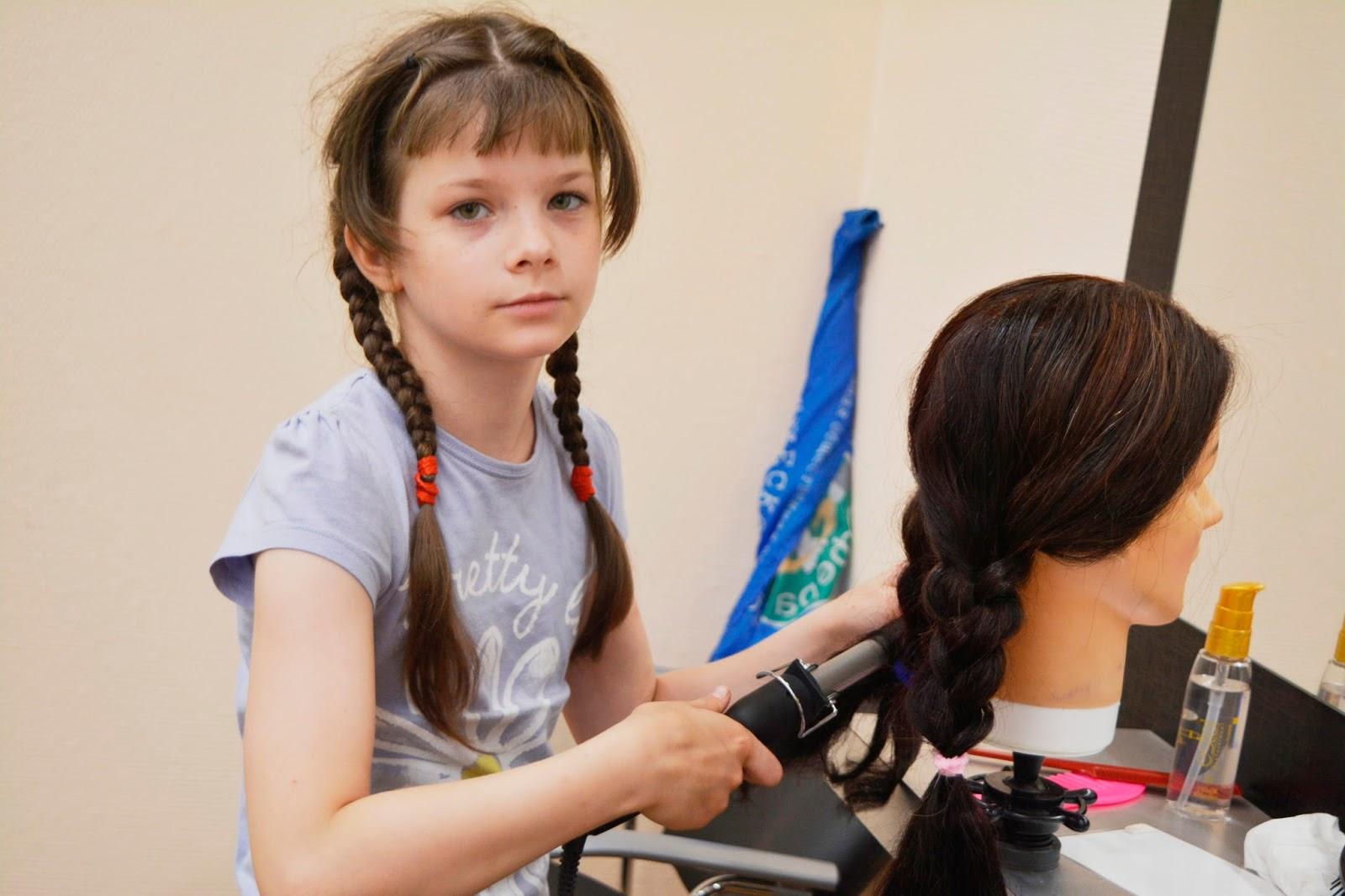 мастер-класс по причёскам
