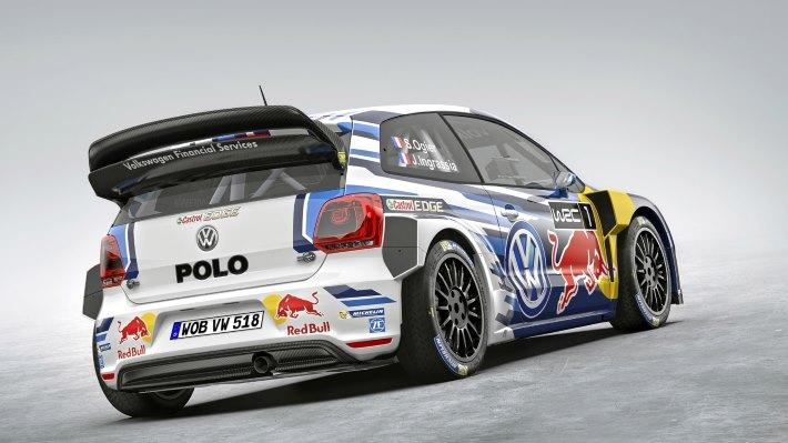 Wallpaper 2: Volkswagen Polo R WRC 2015