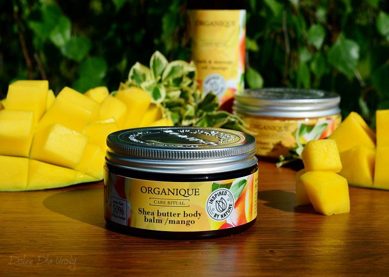 Rytuał Organique o zapachu słodkiego mango - balsam do ciała Shea
