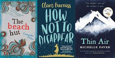 Top 10, Lists, Books, 2016, The Beach Hut, Cassandra Parkin, How Not to Disappear, Clare Furniss, Thin Air, Michelle Paver, The Writing Greyhound, Lorna Holland