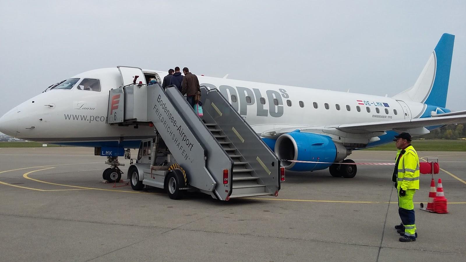 Flug Köln Friedrichshafen