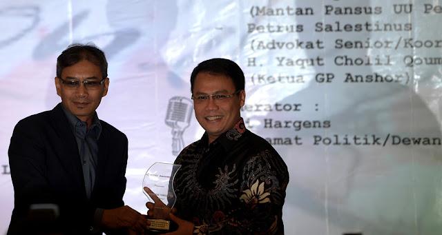 Megawati Terima Anugerah Bhinneka Tunggal Ika Award 2017