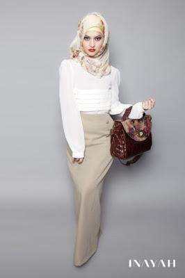 Tips Menggunakan Jilbab Instan Ke Kantor Yang Cantik