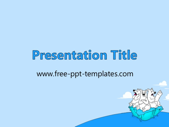 global warming template, Presentation templates
