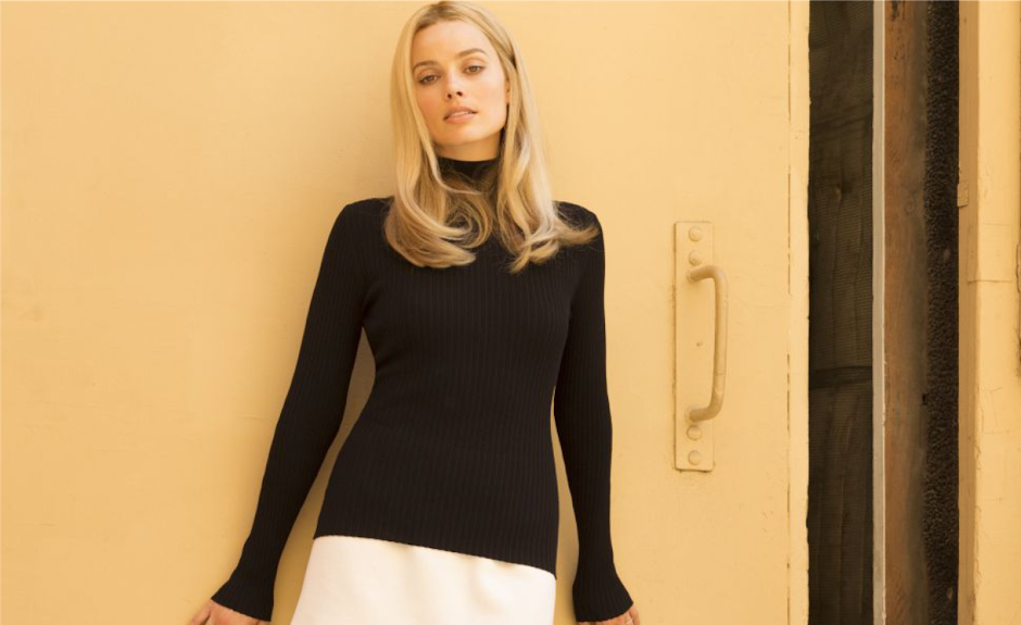 "Primeira imagem de Margot Robbie como Sharon Tate em ""Once Upon a Time in Hollywood"""