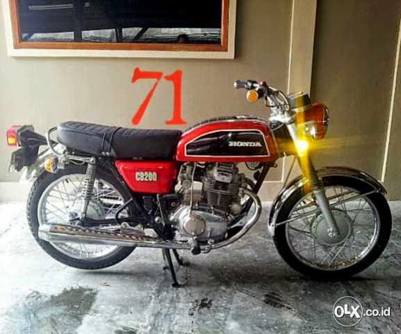 motor classiec honda cb four 750 bj 1976