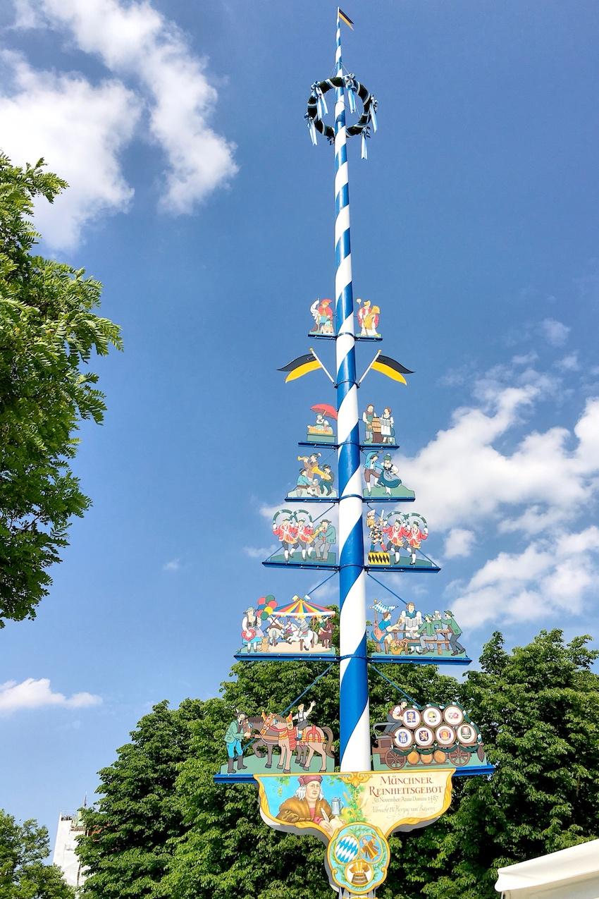 Erinnerung an den Erlass des Münchner Reinheitsgebots