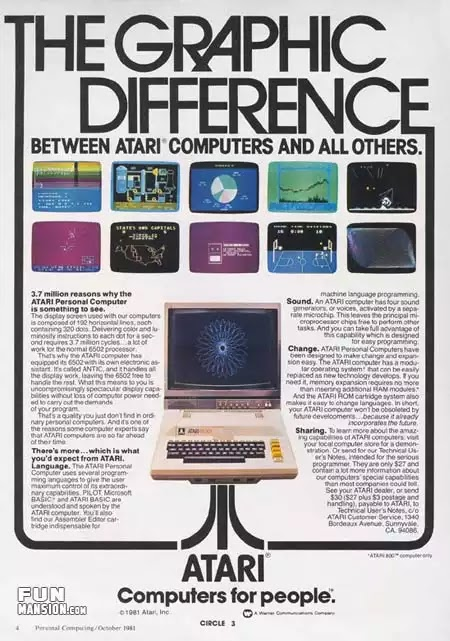 Old days' Computer Advertisements 27