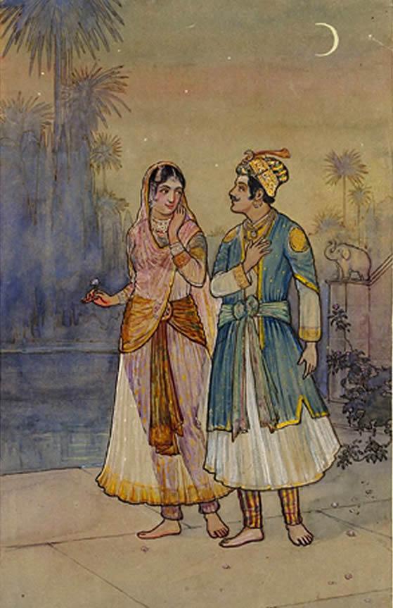 Nur Jahan and Jahangir