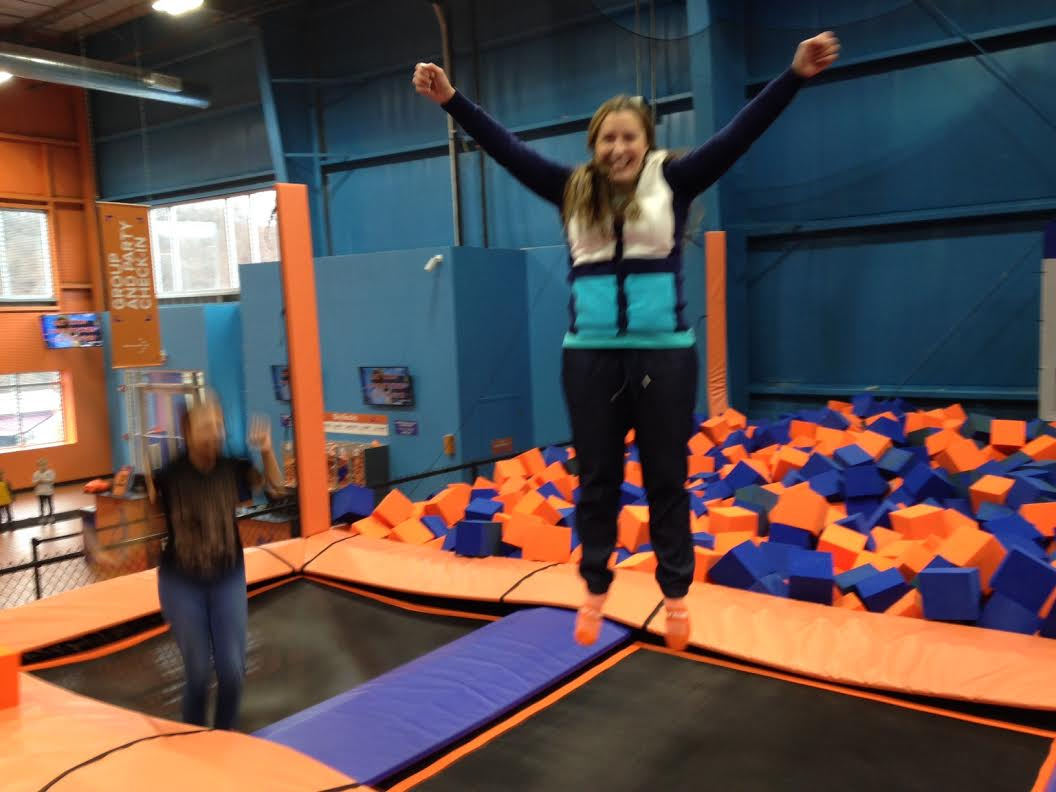 Sky Zone Monroeville This Place Is Jumpin39 Man Sand