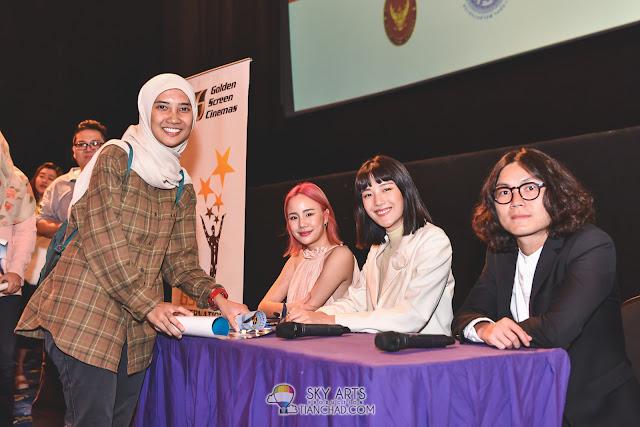 Thai Film Festival in Malaysia 2017 GSC Pavilion KL - Note Panayanggool, Ittisak Eusunthornwattana, Linn Mashannoad Suvanamas