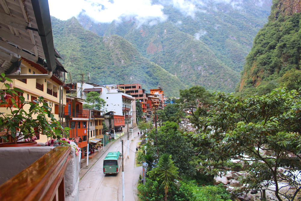 Sumaq balcony, luxury hotel at Aguas Calientes, Peru - lifestyle & travel blog