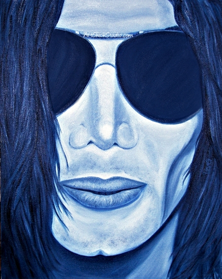 MJ in Shades Michael Jackson Art