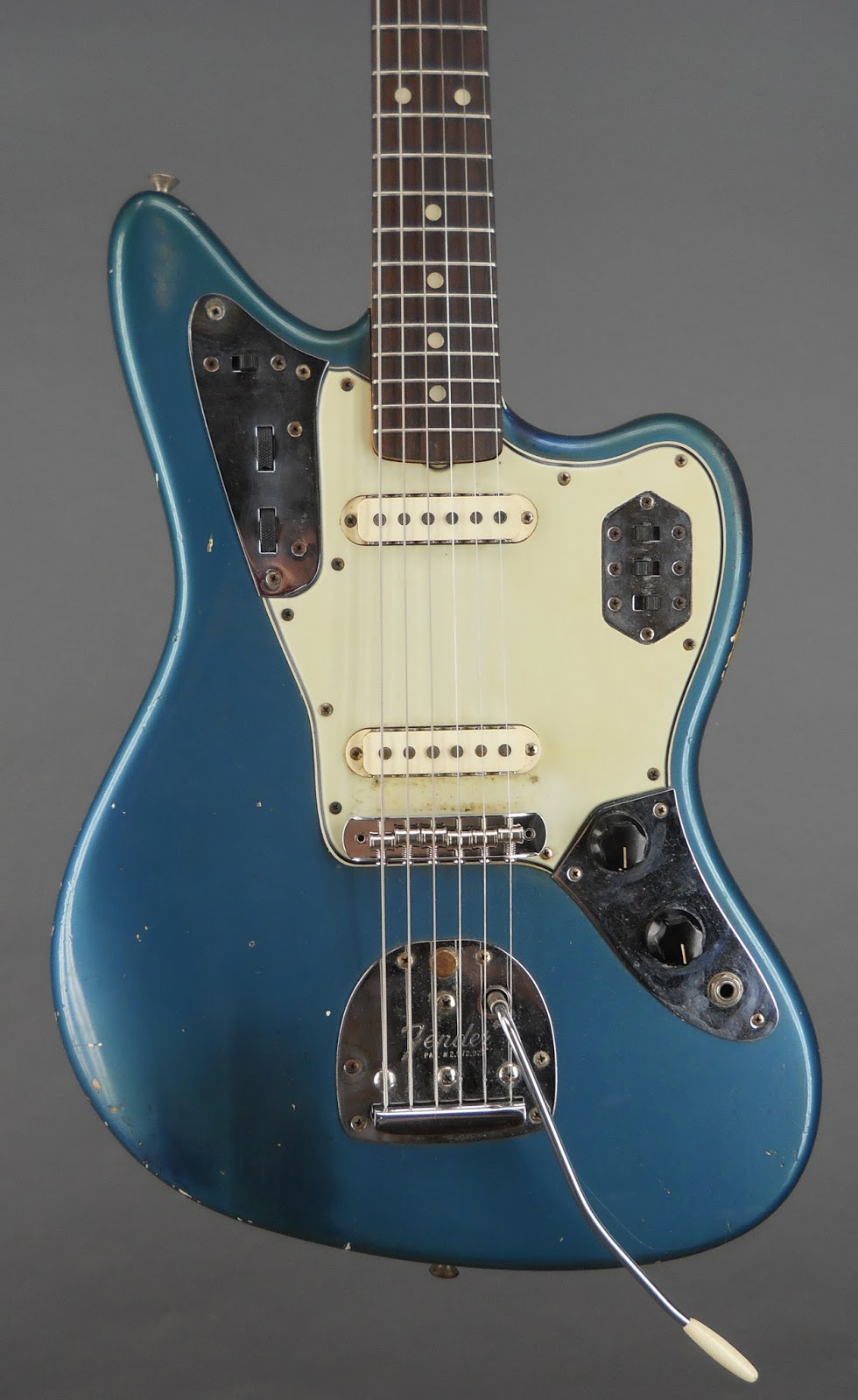Guitars A Go Go 1965 Fender Jaguar Lake Placid Blue
