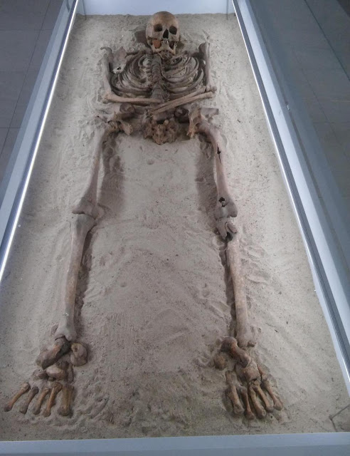 Polish archaeologists find medieval 'witch' skeleton