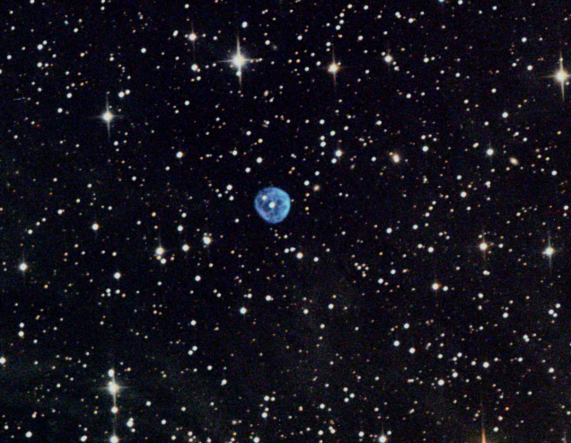 "Planetary Nebula NGC 7094 in Pegasus cropped image on the 16"" f/3/7 astrograph (ATEO-1) - Image by Insight Observatory."