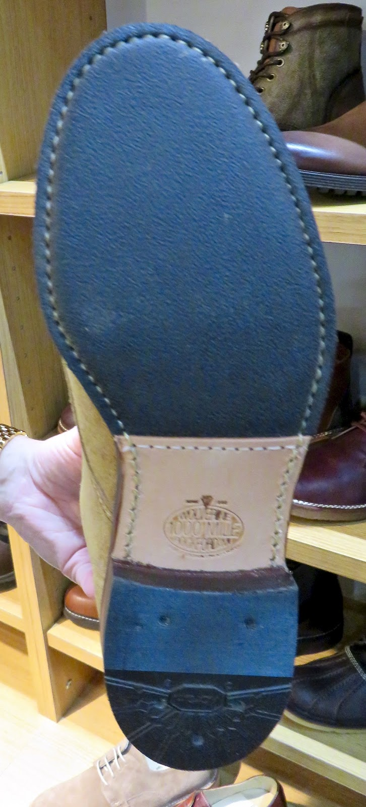 c51eed69768f Vibram 1395 Rubber Leather outsole-handsome too-can see the hand finished  details