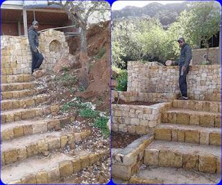 رفراف الشاطئ | تعتبر عملية البناء بالاحجار من أقدم عمليات البناء في التاريخ