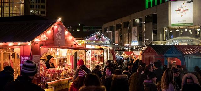 Le Grand marché de Noël de Montréal