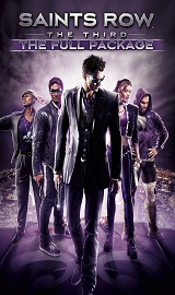 Saints Row The Third The Full Package box art - Saints.Row-The.Third-Black.Box