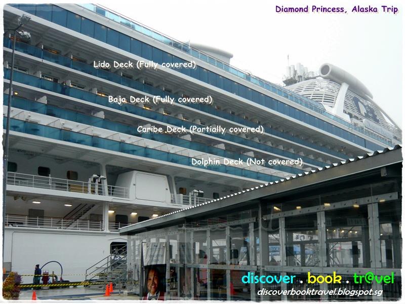 Day 1 Diamond Princess Alaska Cruise Oceanview Double