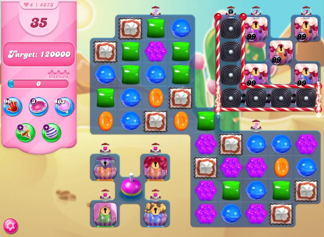 Candy Crush Saga level 4273