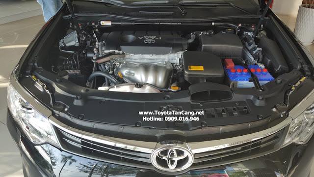 Công nghệ động cơ trên Camry 2016 giúp xe tiết kiệm nhiên liệu khá tốt