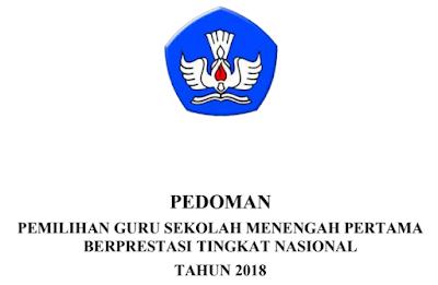 PEDOMAN PEMILIHAN GURU SMP BERPRESTASI TINGKAT NASIONAL TAHUN 2018