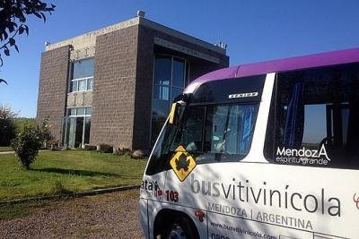 Bus Vitivinícola em Mendoza na Argentina