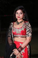 Sirisha Dasari in Red Ghagra Backless Choli ~  017.JPG