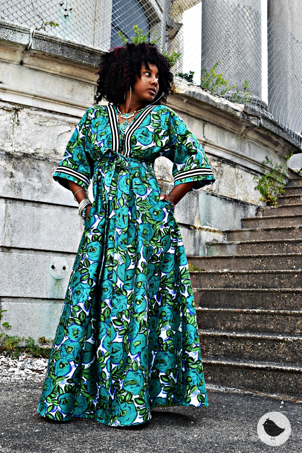 Bohemian Meets Royalty In This Diy Dress Sew What