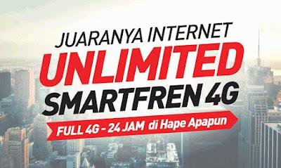 Paket Internet Smartfren Unlimited : Harga serta Tutorial Mengaktifkannya