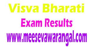 Visva Bharati B.A/B.Sc 2016 Exam Results