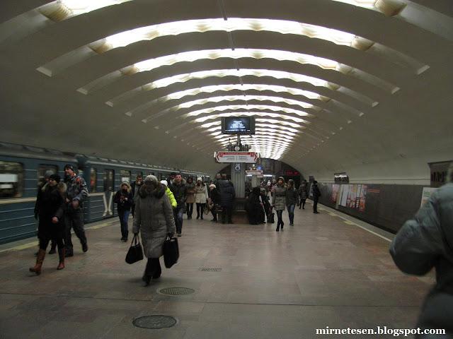 Метро в Новосибирске - станция Ленина