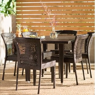 Wicker Dining Room Set-Top Table Materials