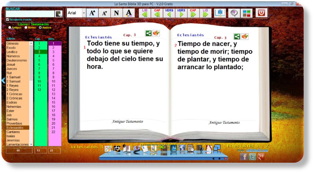 La Santa Biblia 3D Para PC/Celulares/Tabletas [Español