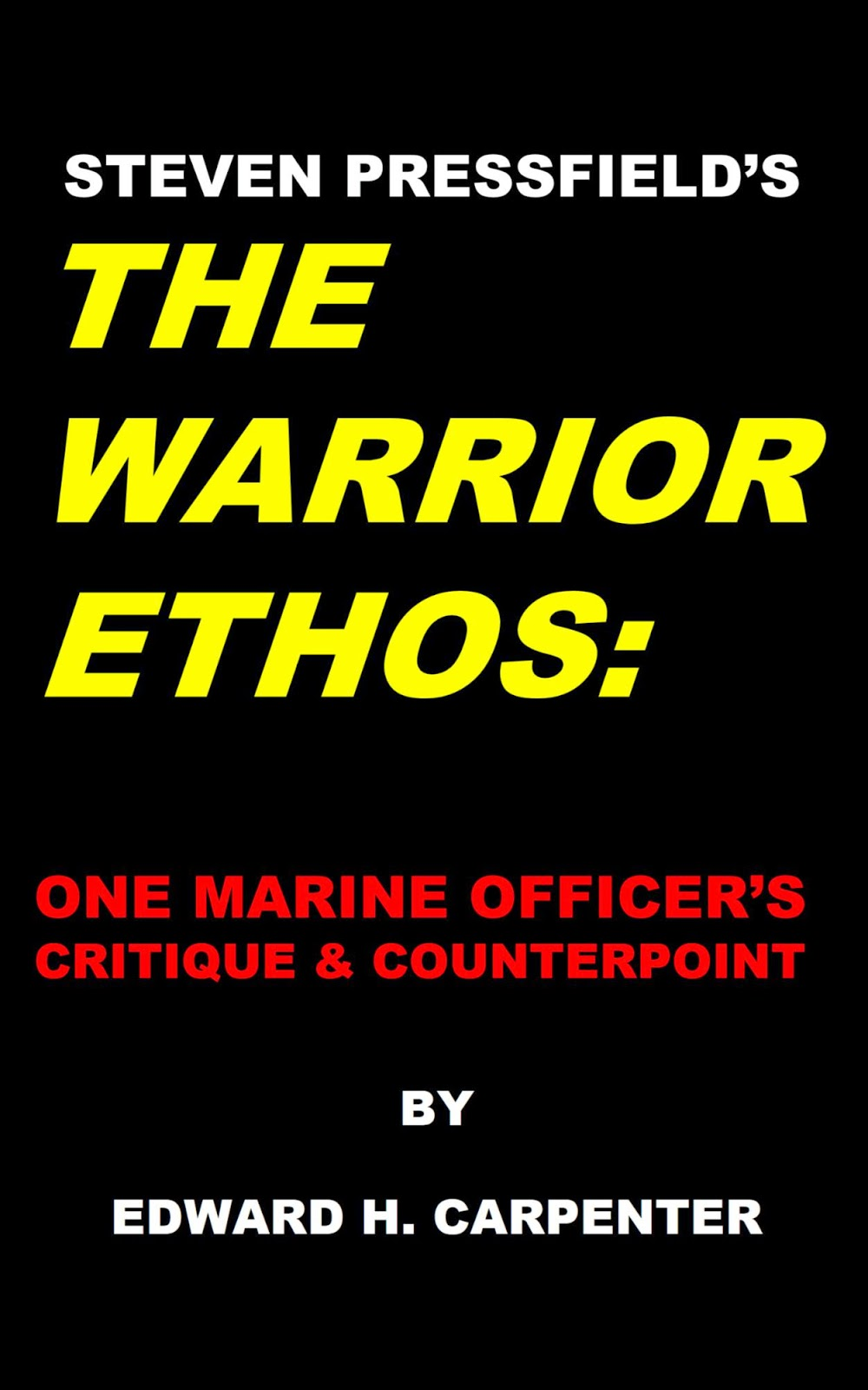 essay on the warrior ethos Education system in sri lanka essay warrior ethos essay help april 9, 2018 how to make your business pleasurable for your customers april 8, 2018.