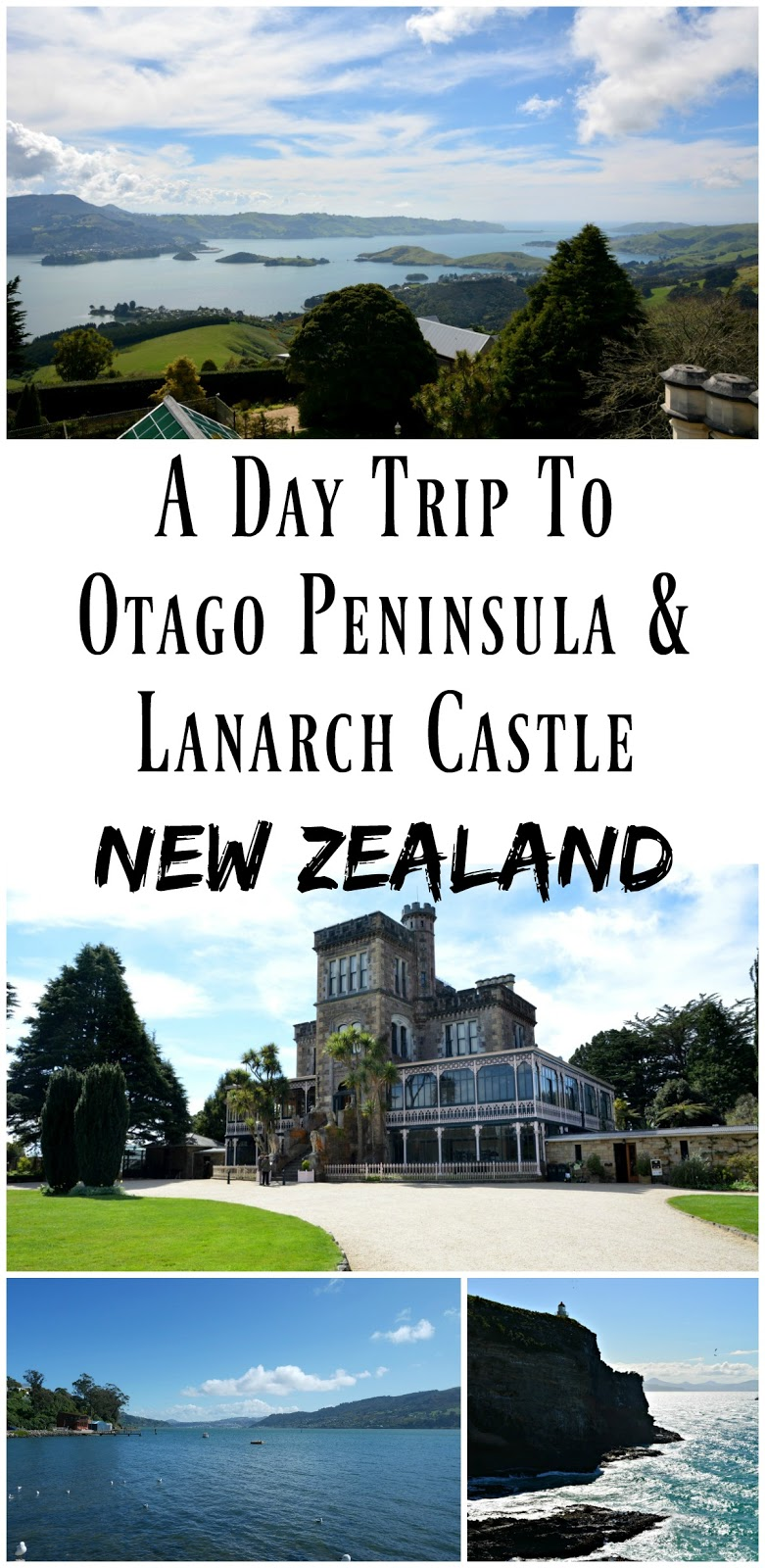 PIN FOR LATER: A day trip to the Otago Peninsula and Lanarch Castle in Dunedin, New Zealand.