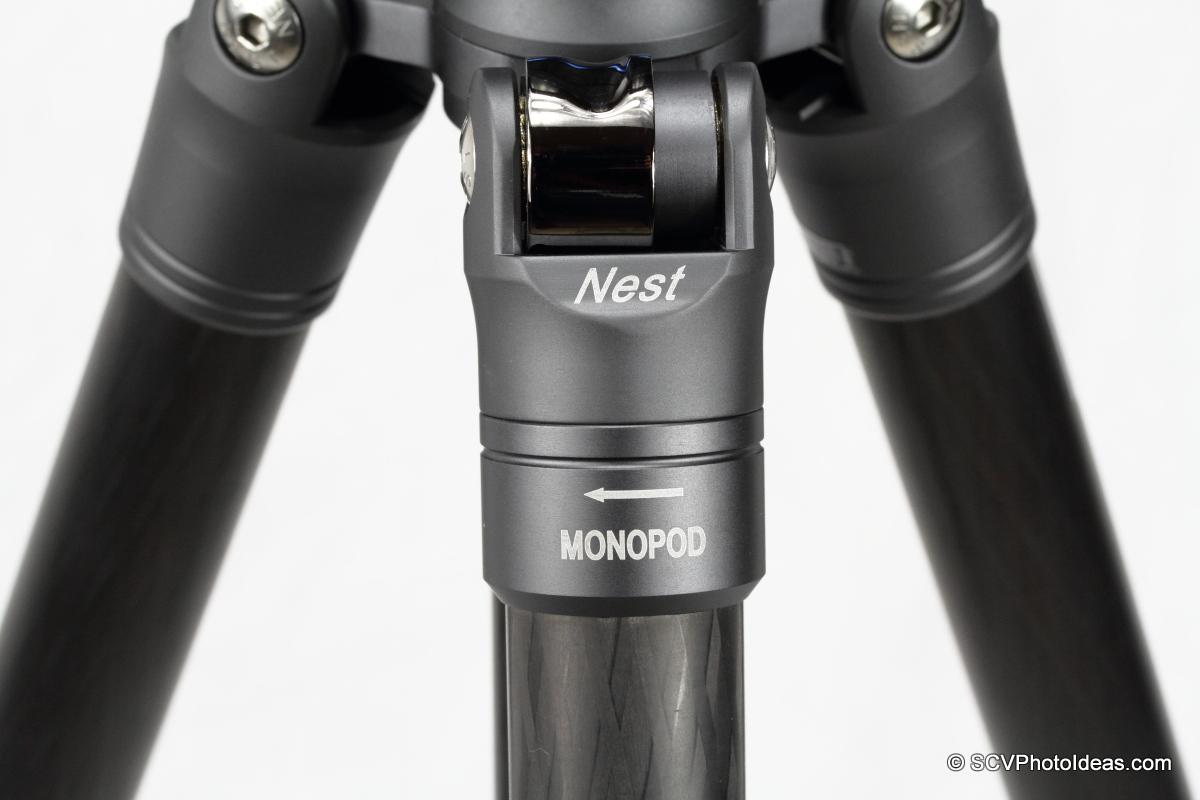 Nest NT-6294CT monopod leg label