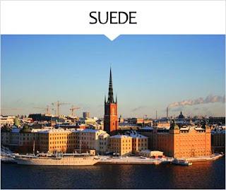 My Travel Background : Voyage Europe Suede