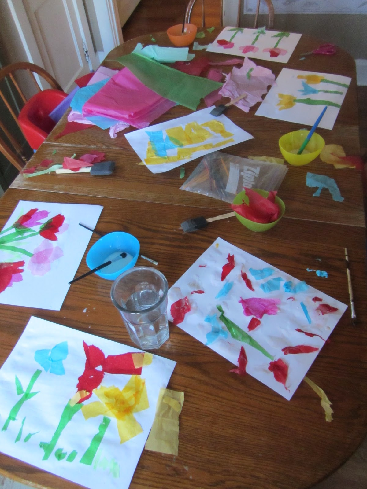 The Unlikely Homeschool Crafts Vs Art In Homeschool