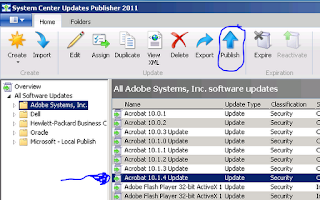 Adobe Updates via Windows Updates 7