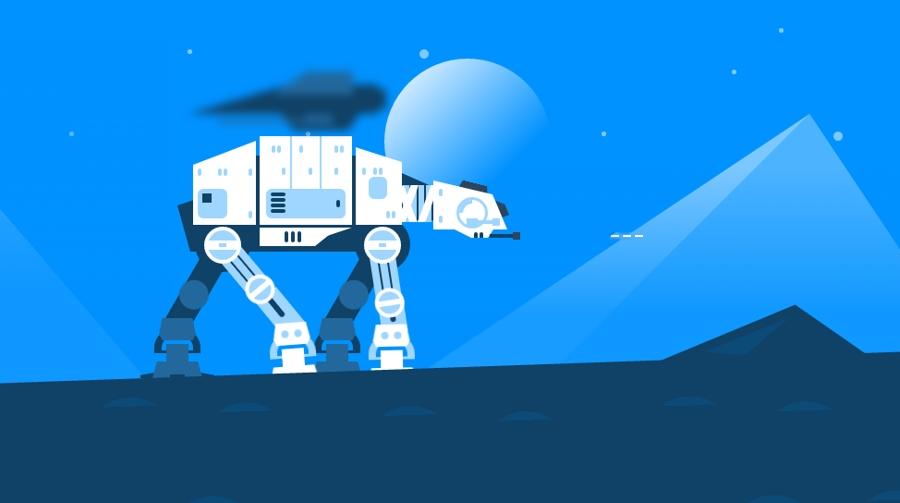 Star Wars en el universo HTML