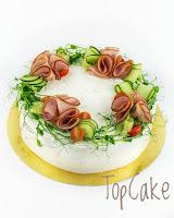 Kinkkuvoileipäkakku, voileipäkakku