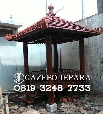 Gazebo Kayu Kelapa Jepara