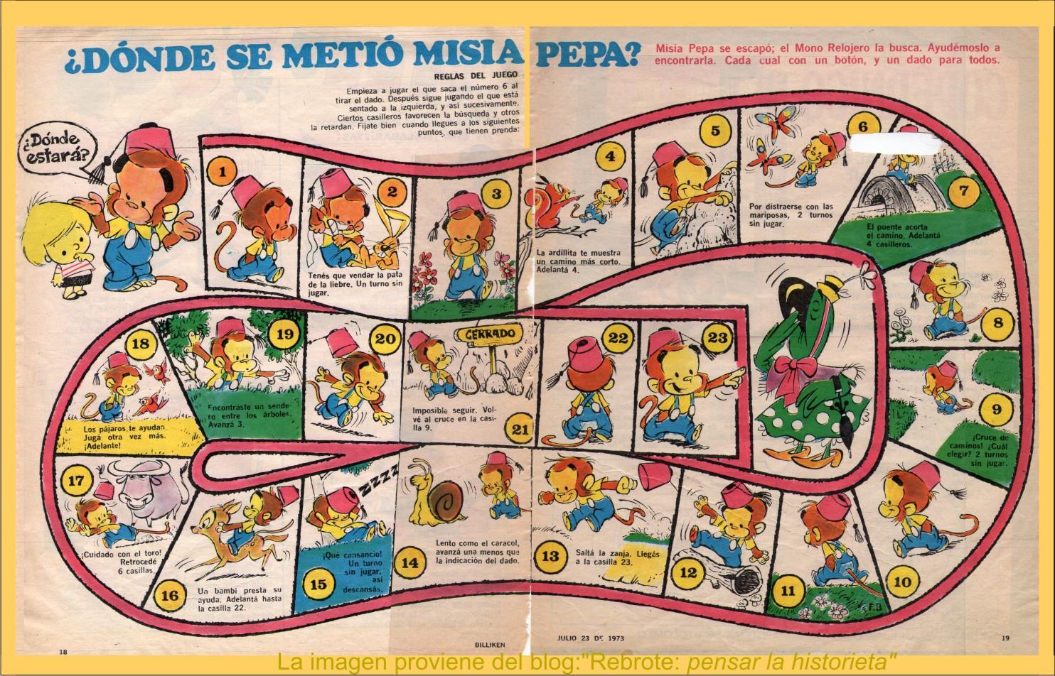 Rebrote Pensar La Historieta El Mono Relojero Te Regala Un Juego