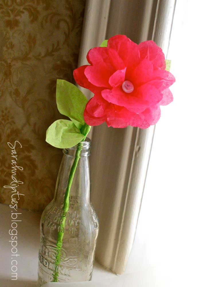 Crafts You Can Make With Crumpled Tissue Paper